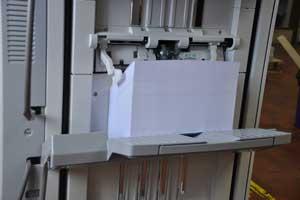 Bavaria-Direktmarketing: Adressausgabe Digitaldrucker