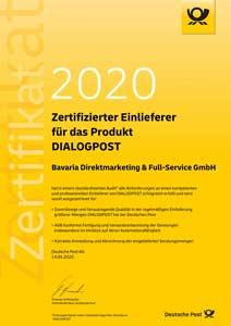 Dialogmarketing-Zertifikat